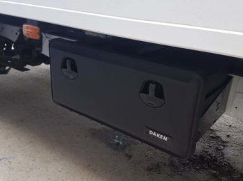 Инструментальный ящик на фургоне